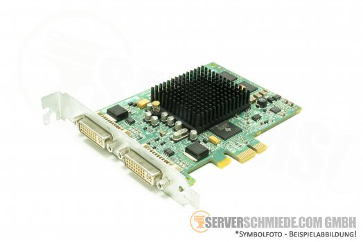 MATROX Grafikkarte MGI G55-MDDE32F PCIe x1 32MB DVI PC Workstation