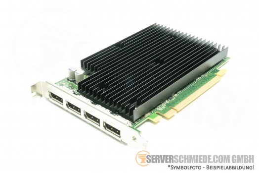 HP 490565-001 nVidia Quadro NVS 450 PCIE Video Card NVS450 512MB