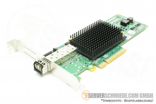 HP  8G Emulex LPE12000  Single Port Fibre Channel HBA 489192 P001219-06B P002181-06A
