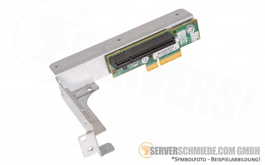 HP DL 165 G7 Riser with cage  603890-001 601447-001 6053B04738 01 A01 230995