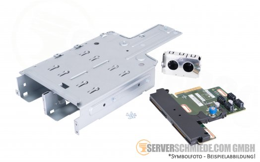 HP ML350 Gen10 G10 RPS Redundant PSU cage with backplane 874959-001 879447-001 874571-B21