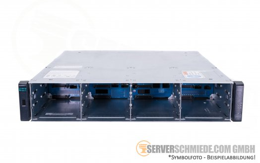 "HP MSA 2040 LFF Expansion Shelf 12x 3,5"" LFF SAN Storage Chassis incl. 2x PSU 2x JBOD SAS Controller"