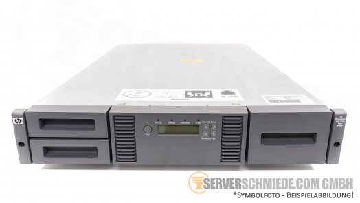 IBM MSL2024 Library Chassis 407351-001 with LTO 4 Drive 95P5819