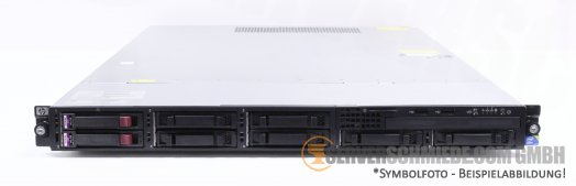 "HP ProLiant DL165 G7 19"" 1U Server 8x 2,5"" SFF 2x AMD Opteron Sockel G34 SmartArray P410 SAS SATA Raid 2x PSU -CTO-"