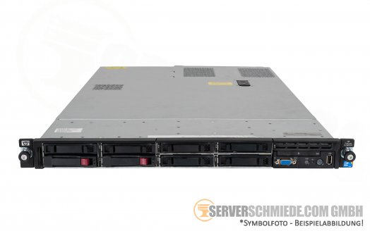 "HP Proliant DL360 G7 19"" 1U Server 8x 2,5"" SFF 2x Intel XEON 5500 5600 SmartArray P410i SAS SATA Raid 2x PSU -CTO-"