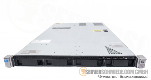 "HP Proliant DL360e G8 Gen8 19"" 1U Server 4x 3,5"" LFF 2x Intel XEON E5-2400 v1 v2 Smart Array SAS SATA Raid 2x PSU -CTO-"