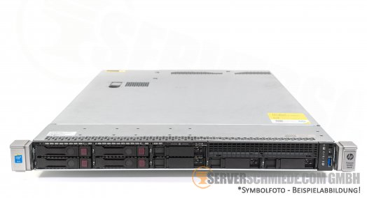 "HP Proliant DL360 G9 Gen9 19"" 1U Server 8x 2,5"" SFF 2x Intel XEON E5-2600 v3 v4 DDR4 ECC Raid 2x PSU Server -CTO-"
