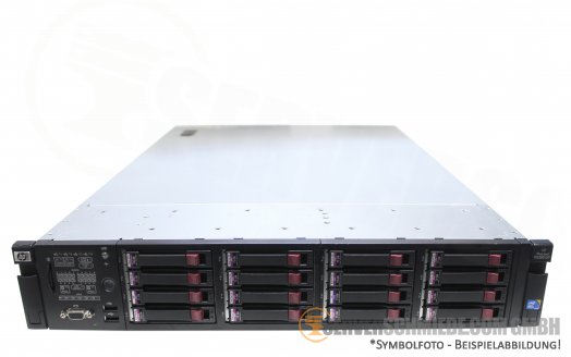 "HP Proliant DL380 G7 19"" 2U Server 16x 2,5"" SFF 2x Intel XEON 5500 5600 SmartArray P410i SAS SATA Raid 2x PSU -CTO-"