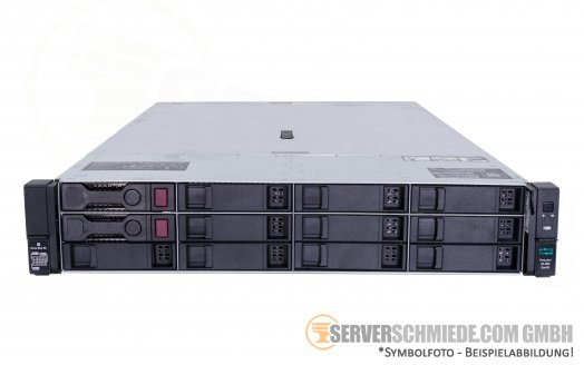 "HP ProLiant DL380 Gen10 G10 2U Server 8x 3,5"" LFF 2x Intel XEON Scalable LGA3647 DDR4 ECC Raid 2x PSU"