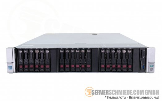 "HP Proliant DL380 Gen9 G9 19"" 2U Server 18x 2,5"" U.2 NVMe 2x Intel XEON E5-2600 v3 v4 DDR4 ECC Raid 2x PSU -CTO-"