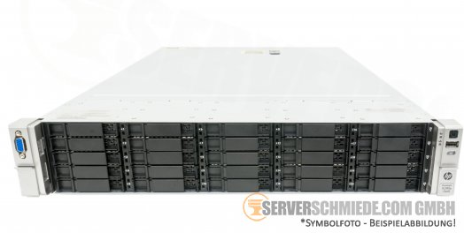 "HP ProLiant DL380p G8 Gen8 19"" 2U Server 25x 2,5"" SFF 2x Intel XEON E5-2600 v1 v2 DDR3 ECC P420i Raid 2x PSU Server"