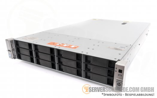 "HP Proliant DL380 G9 Gen9 19"" 2U Server 12x 3,5"" LFF 2x Intel XEON E5-2600 v3 / v4 SAS SATA Raid 2x PSU"