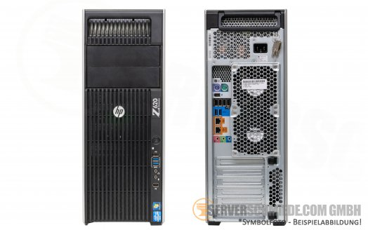 HP Z620 2x Intel XEON E5-2600 v1 DDR3 ECC PCIe x16 3.0 High End Workstation -CTO-