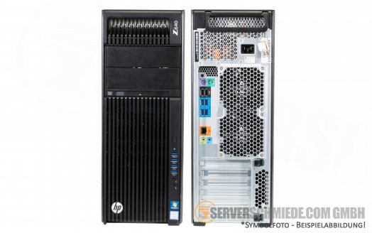 HP Z640 2x Intel XEON E5-2600 v3 v4 8x DDR4 2x PCIe x16 3.0 High End Workstation 925W PSU
