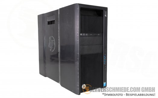 HP Z840 2x Intel XEON E5-2600 v3 v4 16x DDR4 2x PCIe x16 3.0 High End Workstation -CTO-