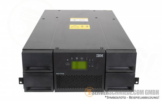 IBM TS3200 Tape Library 18R1108 with 2x LTO3 Drive 3G FC 23R4695
