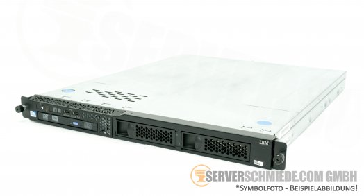 IBM x3250 M4 LFF Intel G850 2,9 GHz 8GB RAM compact 1U rack server