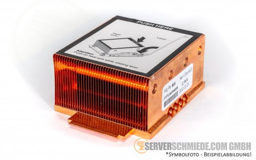 IBM x3550 x3650 M4 Heatsink CPU Copper Kühler  94Y6695