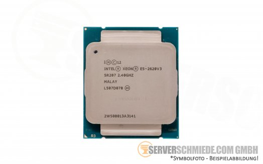 Intel Xeon E5-2620V3 SR207 6C Server Prozessor 6x 2,40 GHz 15MB Cache 2011-3 CPU