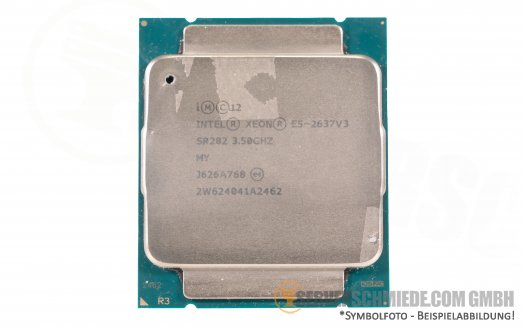 Intel Xeon E5-2637V3 SR202 4C Server Prozessor 4x 3,50 GHz 15MB Cache 2011-3 CPU