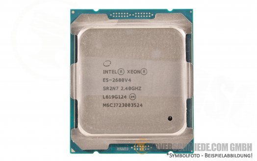 Intel Xeon E5-2680V4 SR2N7 14C Server Prozessor 14x 2,40 GHz 35MB  2011-3 CPU