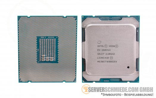 Intel Xeon E5-2683V4 SR2JT 16C Server Prozessor 16x 2,10 GHz 40MB  2011-3 CPU