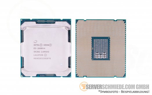 Intel Xeon E5-2690V4 SR2N2 14C Server Prozessor 14x 2,60 GHz 35MB  2011-3 CPU
