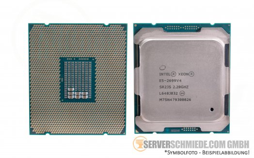 Intel Xeon E5-2699V4 SR2JS 22C Server Prozessor 22x 2,20 GHz 55MB  2011-3 CPU