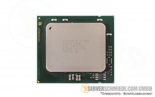 Intel Xeon E7-2830 SLC3J 8C Server Prozessor 8x 2,13 GHz 24MB Cache LGA1567 CPU