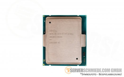 Intel Xeon E7-8870 SLC3E 10C Server Prozessor 10x 2,40 GHz 30MB Cache 1567 CPU