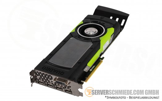 nVidia Quadro M6000 12GB GDDR5 High-End CAD Workstation Grafikkarte GPU 1x DVI 4x Display Port