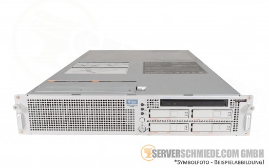 Oracle SUN SPARC Enterprise M3000 - SPARC64 VII Quad Core 4x 2,75GHz - 64GB RAM 8x8GB - 2x 300GB 10k SAS HDD