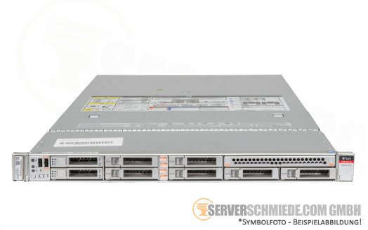 "SUN Oracle Server X5-2 19"" 1U Server 8x 2,5"" SFF 2x Intel XEON E5-2600 v3 v4 DDR4 ECC Raid 2x PSU -CTO-"