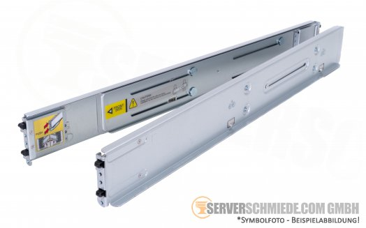 "Supermicro CSE-217 19"" Rackschienen Rails MCP-290-00144-0N 2U fixed Rail set"