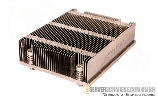 Supermicro CSE826E CPU Heatsink Kühler LGA 2011-3  Intel XEON SNK-P0047PS  11201217